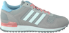 Grijze ADIDAS Sneakers ZX 700 DAMES  - small