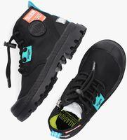 Zwarte PALLADIUM Hoge sneaker OVERLAB NEON PAMPA K  - medium