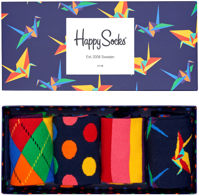 Multi HAPPY SOCKS Sokken GIFT PACK - large