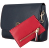 Blauwe TOMMY HILFIGER Schoudertas CHARMING TOMMY CROSSOVER  - small