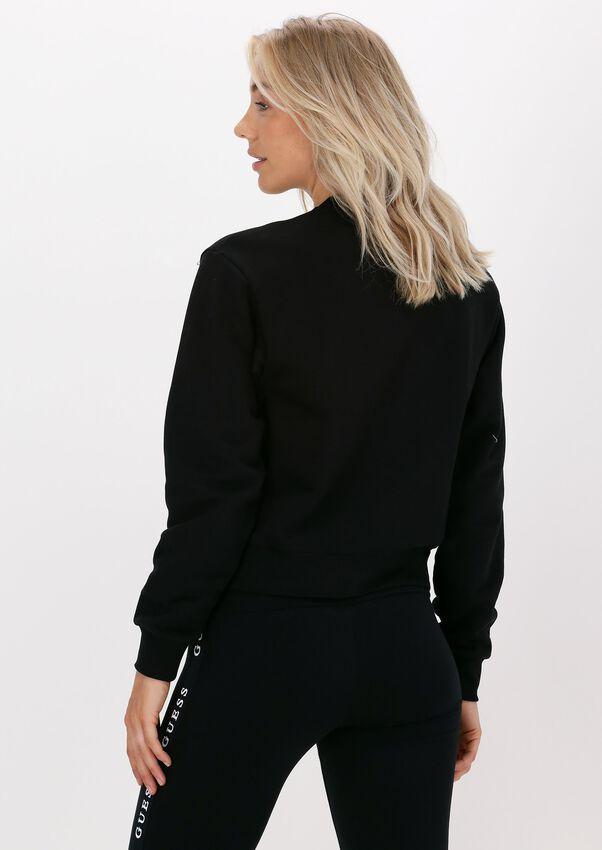 Zwarte GUESS Sweater ICON SWEATSHIRT - larger