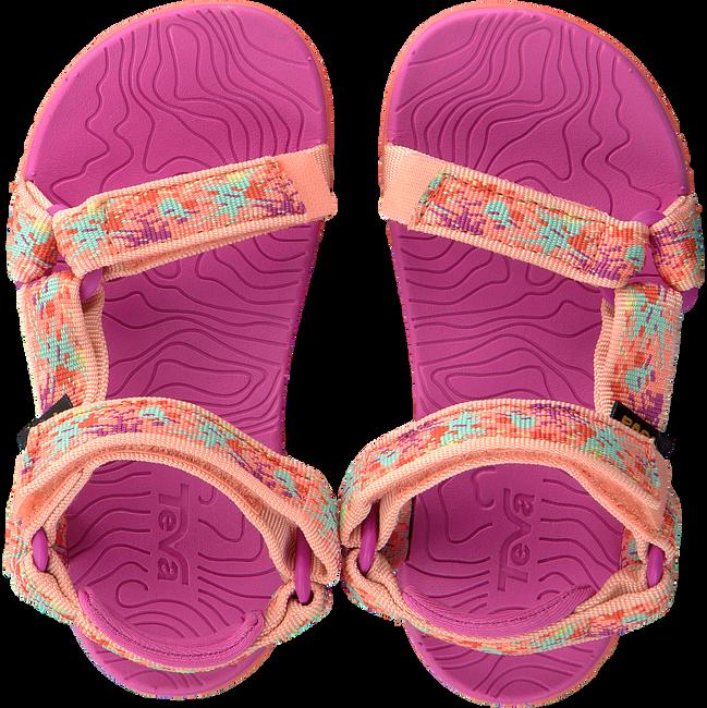 Roze TEVA Sandalen HURRICANE 3 KIDS - large