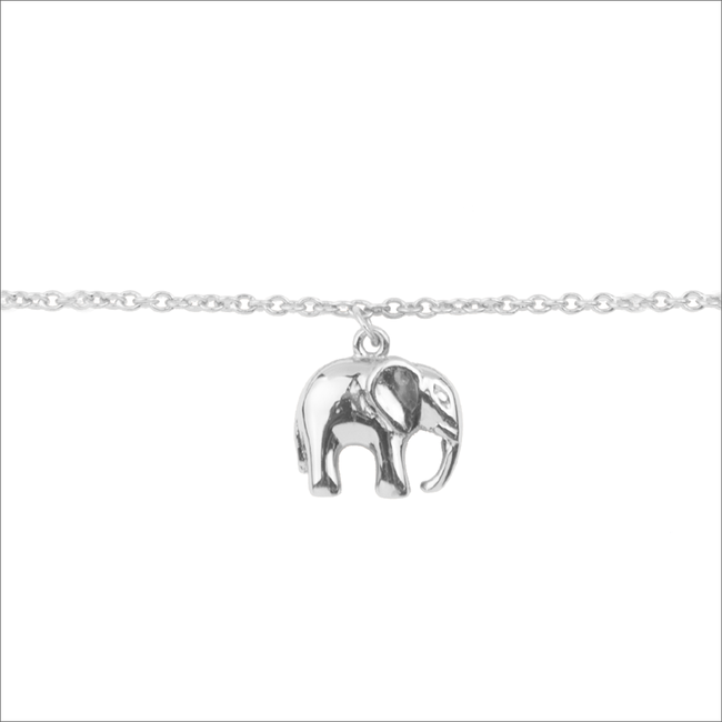Zilveren ALLTHELUCKINTHEWORLD Armband SOUVENIR BRACELET ELEPHANT - large