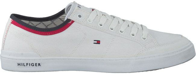 Witte TOMMY HILFIGER Sneakers CORE CORPORATE TEXTILE SNEAKER - large