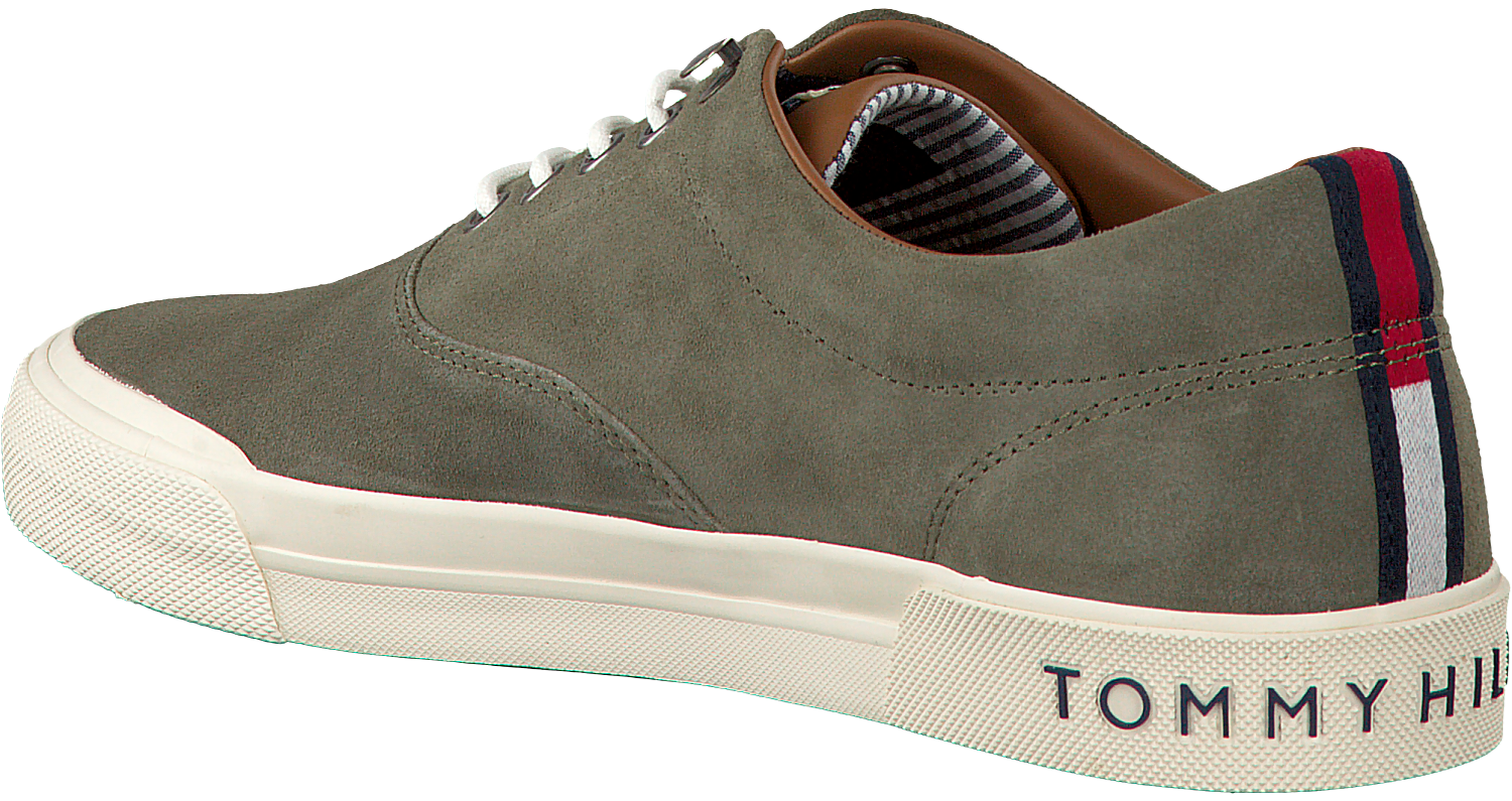 d668a52c1222d4 Groene TOMMY HILFIGER Sneakers HERITAGE SUEDE SNEAKER - large. Next
