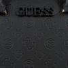 Zwarte GUESS Handtas JANELLE BOX SATCHEL  - small
