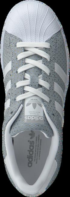 Grijze ADIDAS Sneakers SUPERSTAR DAMES  - large