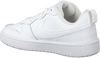 Witte NIKE Lage sneakers COURT BOROUGH LOW 2 (GS)  - small