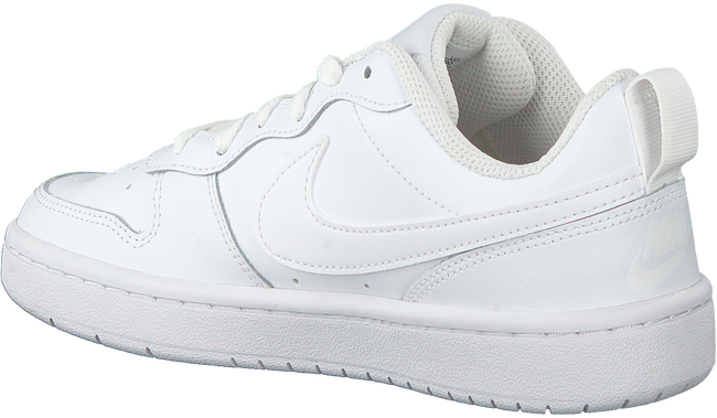Witte NIKE Lage sneakers COURT BOROUGH LOW 2 (GS)  - large