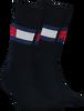 Blauwe TOMMY HILFIGER Sokken TH JEANS FLAG  - small