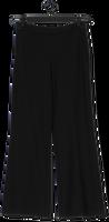 Zwarte SUMMUM Wijde broek TROUSERS BOOT CUT PUNTO MILANO