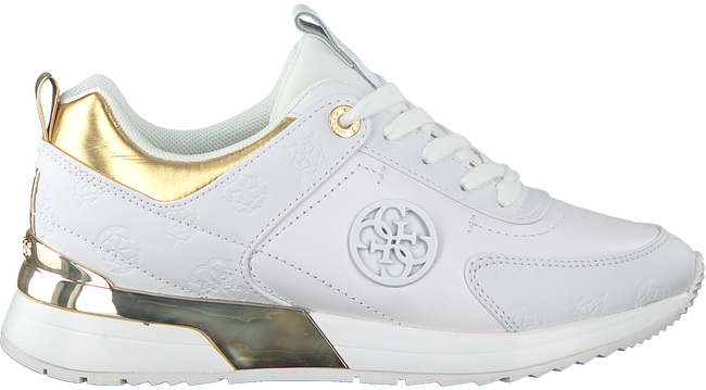 Witte GUESS Lage sneakers MARLYN  - large