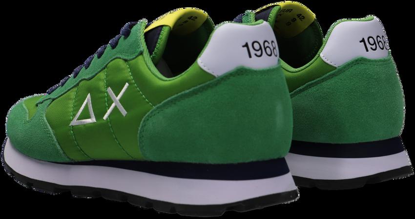Groene SUN68 Lage sneakers TOM SOLID NYLON MEN  - larger