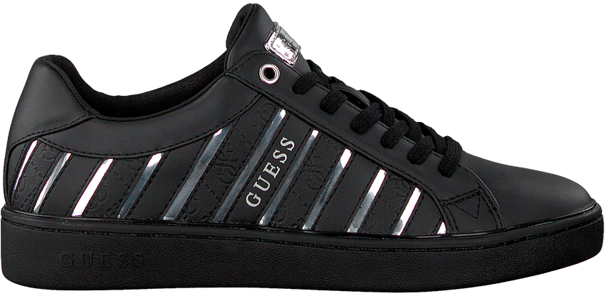 Zwarte GUESS Lage sneakers BOLIER  - larger