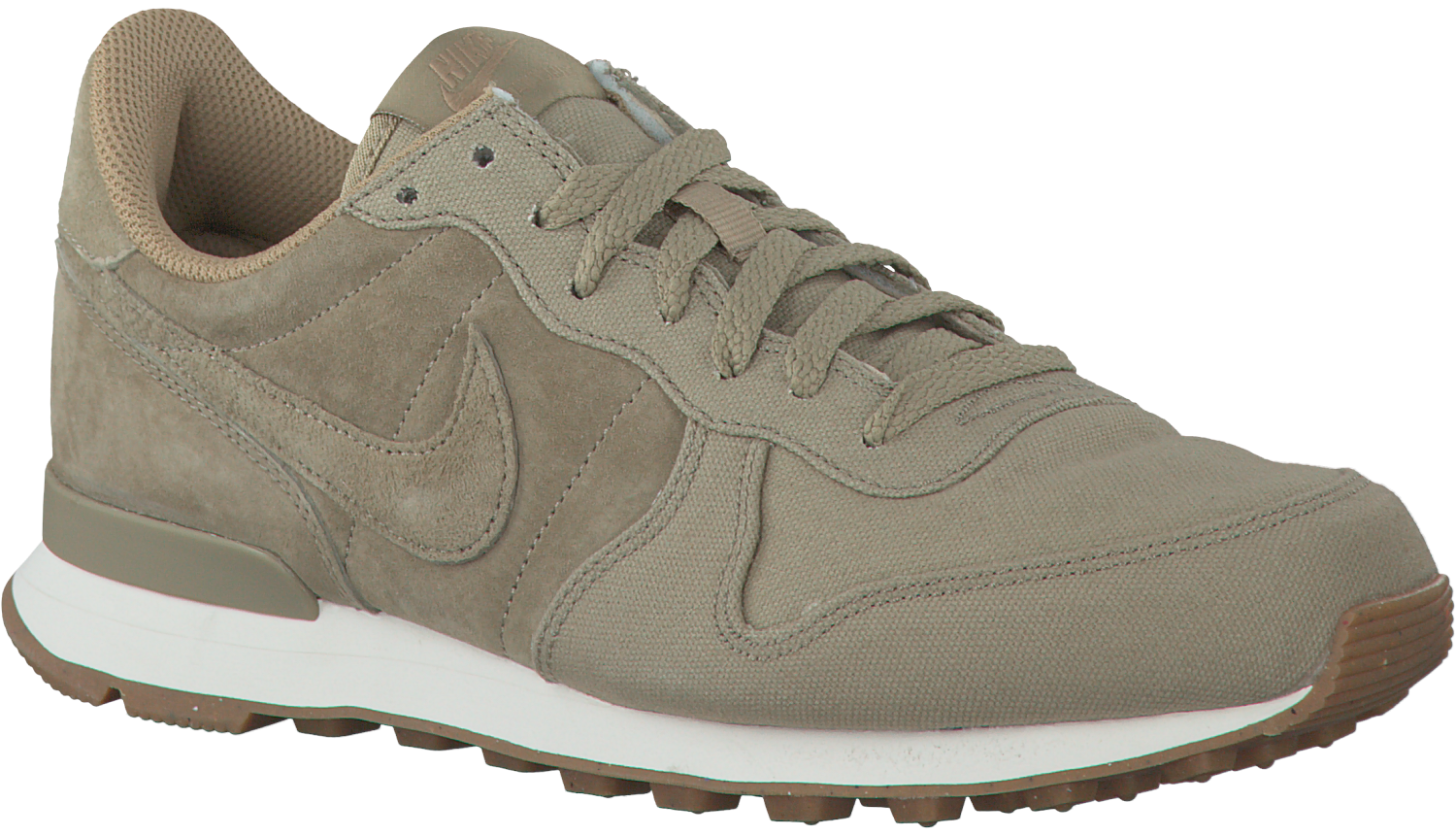 groene nike internationalist