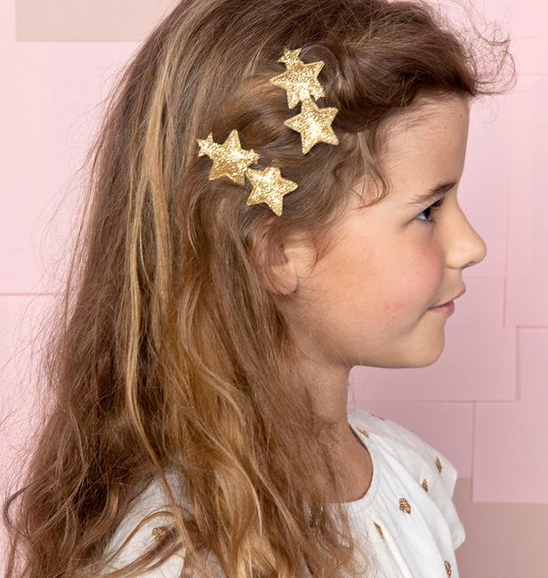 Gouden LE BIG Haarband RAQUEL HAIRCLIP  - large