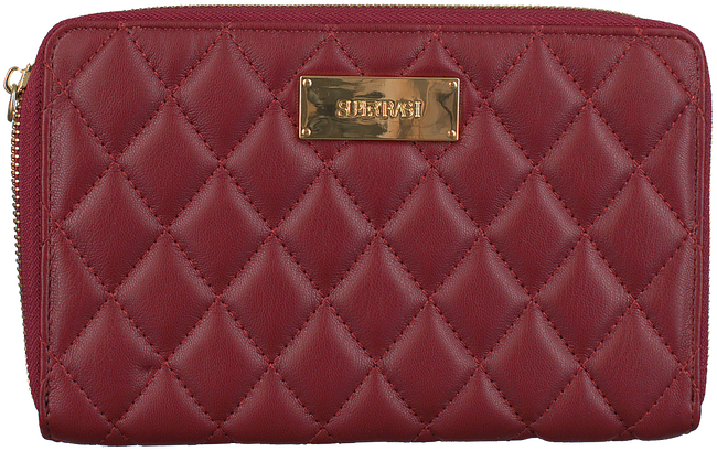 Rode SUPERTRASH Portemonnee JANE WALLET QUILTED - large