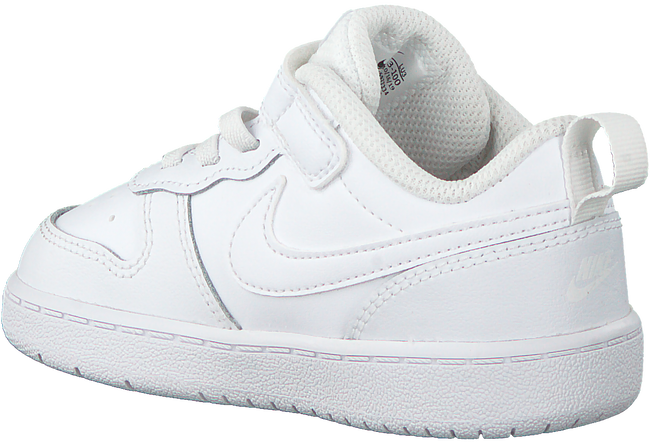 Witte NIKE Lage sneakers COURT BOROUGH LOW 2 (TDV)  - large