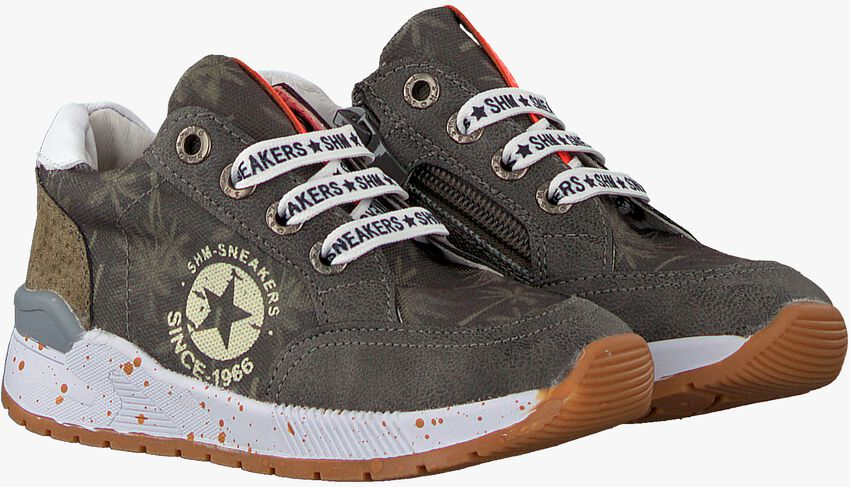 Grijze SHOESME Lage sneakers ST20S005  - larger