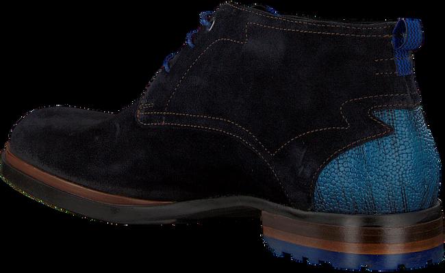 Blauwe FLORIS VAN BOMMEL Veterschoenen 10947 - large