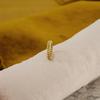 Gouden NOTRE-V Ring RING KLEINE SCHAKEL  - small
