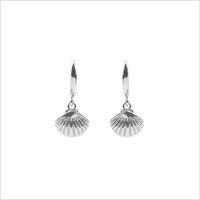 Zilveren ATLITW STUDIO Oorbellen SOUVENIR EARRINGS SEA SHELL - medium
