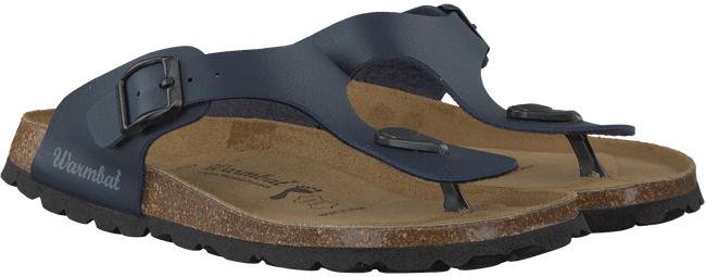 Blauwe WARMBAT Slippers 081503  - large