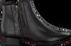 Zwarte GABOR Enkellaarsjes 713  - small
