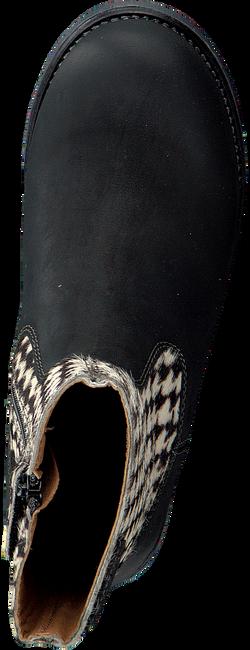 Zwarte OMODA Enkellaarsjes OM119671  - large