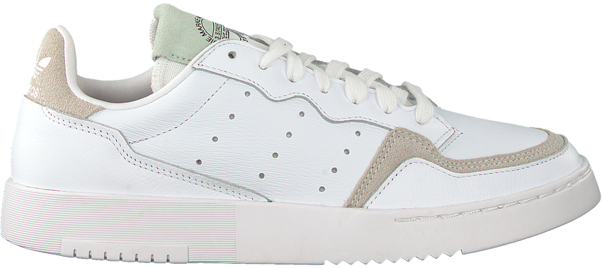 Witte ADIDAS Lage sneakers SUPERCOURT W  - larger