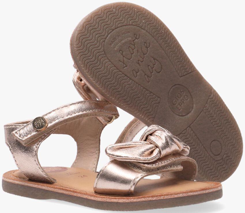 Bronzen GIOSEPPO Sandalen ELNE  - larger