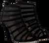 Zwarte UNISA Sandalen YOLFRAN - small
