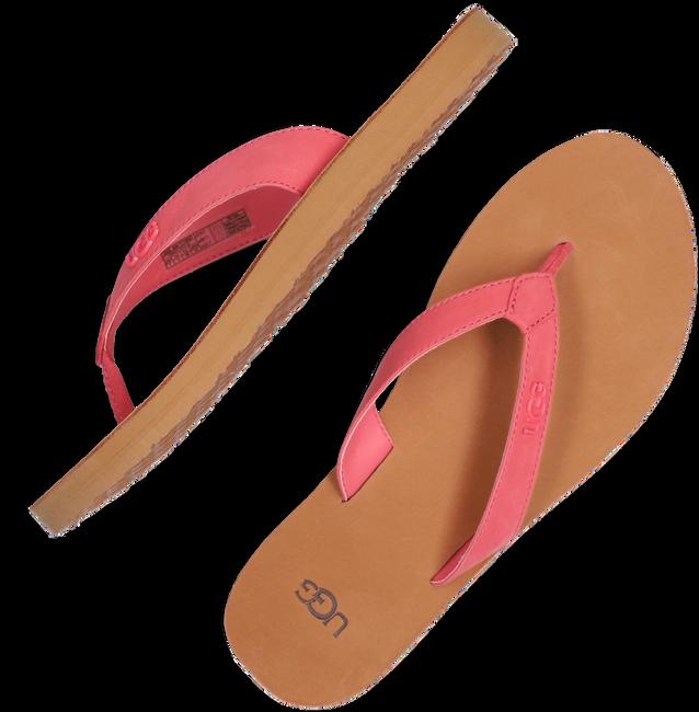 Rode UGG Slippers TAWNEY  - large
