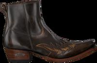 Bruine SENDRA Cowboylaarzen 12185P  - medium