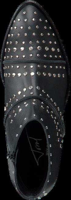 Zwarte TORAL Enkellaarsjes 10601  - large