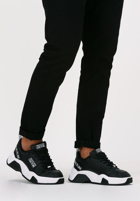 Zwarte VERSACE JEANS Lage sneakers STARGAZE DIS SF6  - large