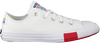 Witte CONVERSE Lage sneakers CHUCK TAYLOR ALL STAR OX KIDS  - small