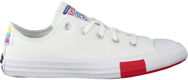 Witte CONVERSE Lage sneakers CHUCK TAYLOR ALL STAR OX KIDS  - large