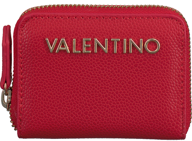 Rode VALENTINO HANDBAGS Portemonnee DIVINA COIN PURSE - large