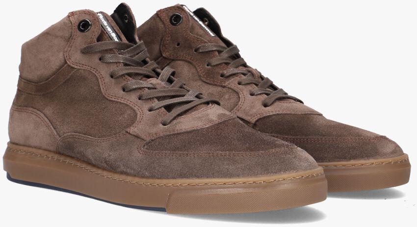 Beige FLORIS VAN BOMMEL Hoge sneaker 20325  - larger