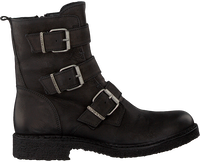 Zwarte CA'SHOTT Biker boots 22042  - medium