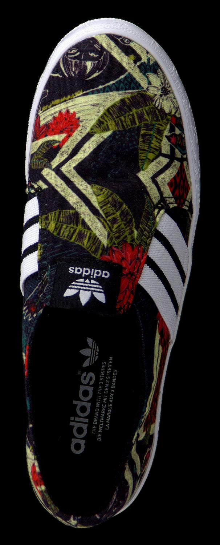 Zwarte ADIDAS Slip on sneakers ADRIA LO DAMES | Omoda