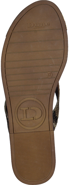 Beige DUNE LONDON Slippers LAGOS - large
