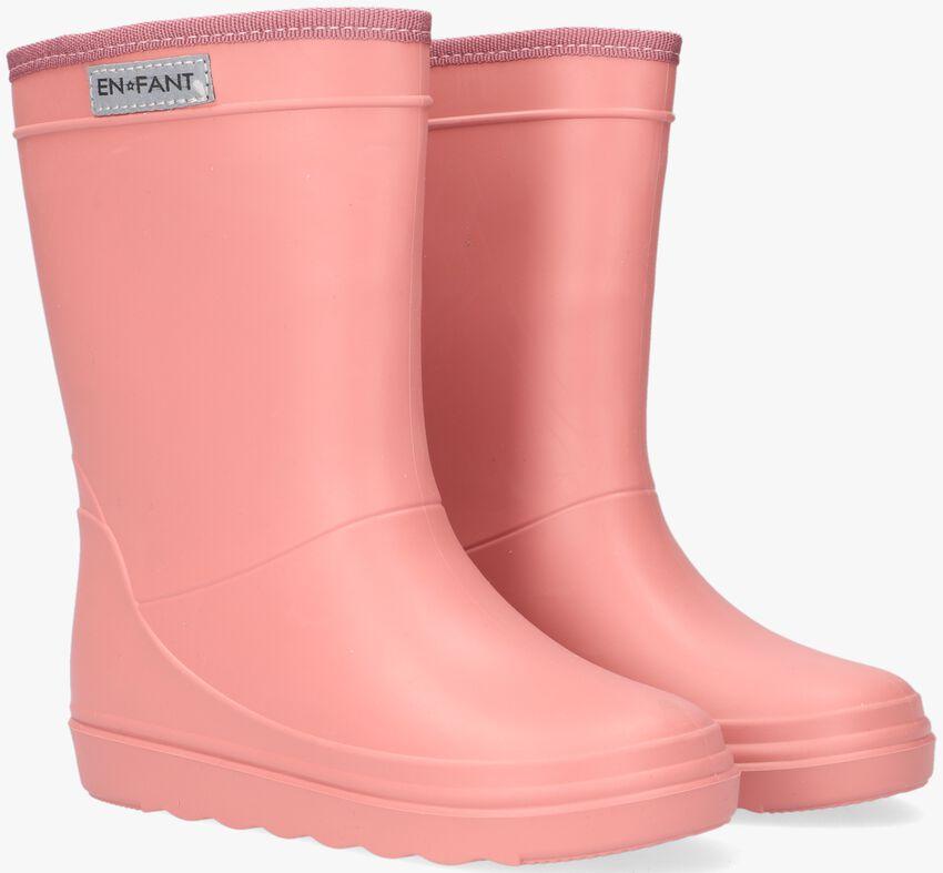 Roze ENFANT Regenlaarzen TRITON RAIN BOOT  - larger