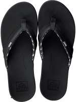 Zwarte REEF Slippers ORTHO BOUNCE COAST  - medium