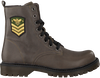 Groene BRAQEEZ Veterboots BELLE BOOT - small