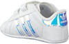 Witte ADIDAS Babyschoenen SUPERSTAR CRIB  - small