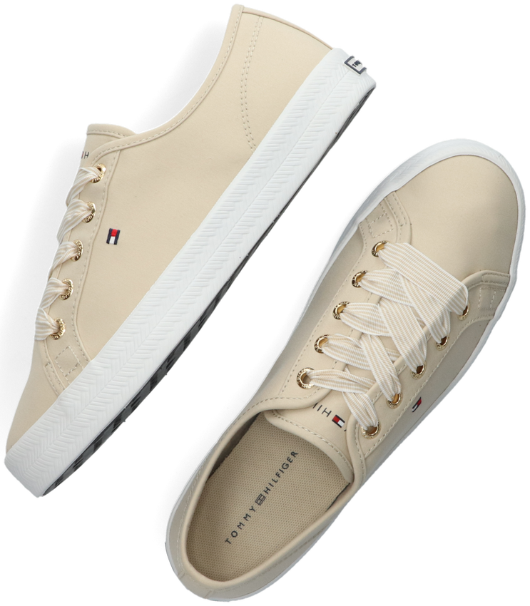 Beige TOMMY HILFIGER Lage sneakers ESSENTIAL NAUTICAL  - larger