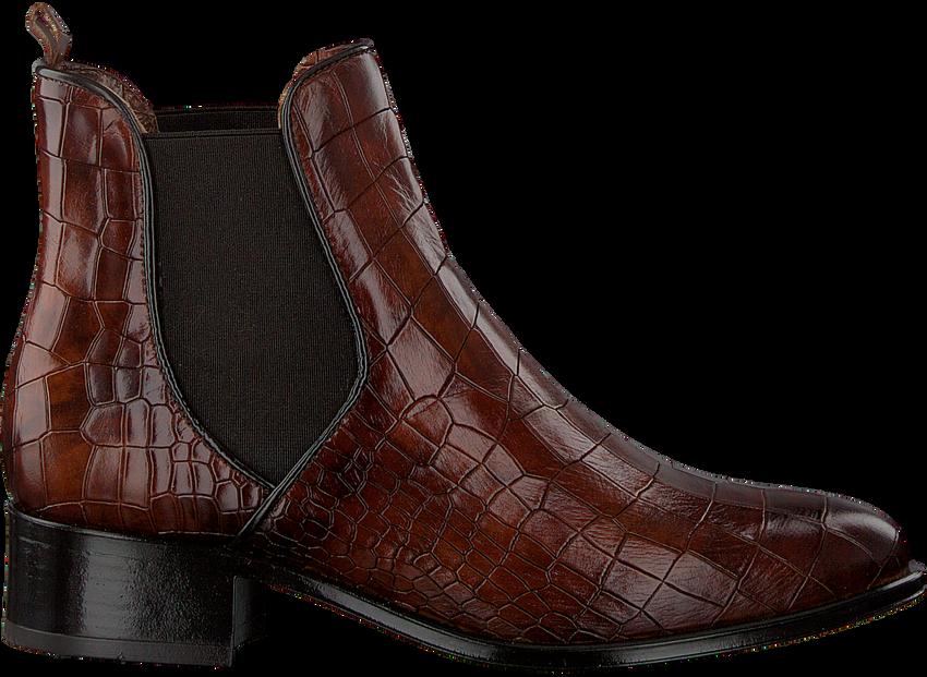 Cognac VERTON Chelsea boots 567-010  - larger