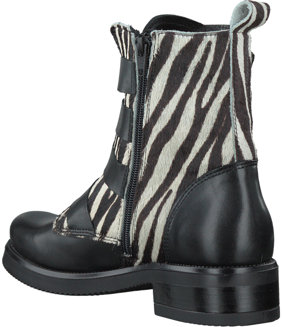 Zwarte PS POELMAN Biker boots P14317POE  - large